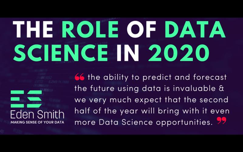 Data Science Is It Still The Hottest Job Eden Smith Group Ltd